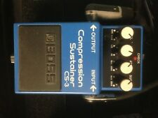 Boss CS-3 Compressor Guitar Effect Pedal