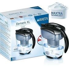 Brita Elemaris 3.5L XL Large Fridge Water Filter Jug +1 Maxtra Filter