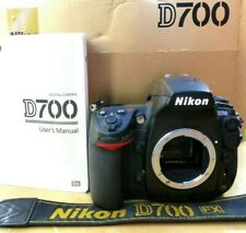 Nikon D700 Body (Shutter Count 40135) Inc Instruction Manual + Strap.