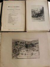 Libri antichi autografato in tedesco