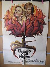 A1973 DISELO CON FLORES. ROCIO DURCAL, FERNANDO REY