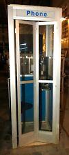 Telephone Booth Aluminum Outdoor Blue Pushbutton Telphone