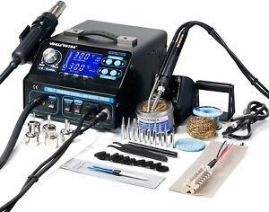 992DA+ 4 in1 Soldering Station Repair Board Hot Air Soldering Iron Vacuum Pen