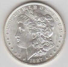 1887P  MORGAN SILVER DOLLAR-NICE COIN-FREE SHIPPING-