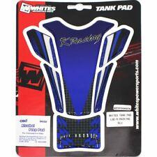 Whites Powersports Tank Pad Racing Blue WPTPTKW507B