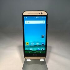 HTC One M8 32GB Amber Gold Sprint - Harman/Kardon Edition - Cracked - Working!