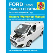 Haynes Ford Transit Custom Diesel Manual Book (2013-2017) (6423)