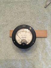 Vtg Radio Panel Meter Triplett Ac Volts 0 3 Model No 332 Me458