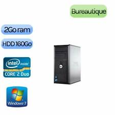 ORDINATEUR  DELL OPTIFLEX 380  INTEL DUAL CORE E5700  3GHZ /2GB/WINDOWS 7 PRO
