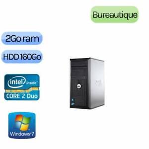 ORDINATEUR  DELL OPTIFLEX 380  INTEL DUAL CORE E5700  3GHZ /2GB/WINDOWS 7 PRO