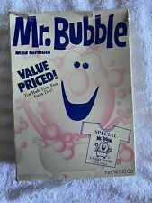 Rr. Bubble 1960's Full Unopened Box Vintage Bubble Kids Bath Item