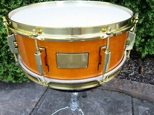 Pearl Custom Classic 5-1/2 x 14 one Ply Maple Snare Drum Signed By Joe Vitale