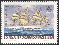 Argentina 1968 Navy Day/Cadet Sailing Ship/Transport/Boats/Nautical 1v (n31726)