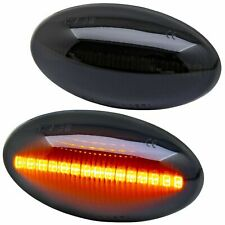 LED Clignotants Latéraux Noir Pour BMW Mini R50 R52 R53 [7144-1]