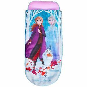 Disney Frozen Bébé Couchage Sac Prêt Lit Gonflable Entièrement Portable