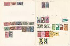 Chad Colección 1922-1972 en 15 Páginas, Todas Diferentes Lote
