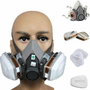 6200 6001 5N11 501 7pcs Suit Respirator Painting Spraying Face Gas Mask