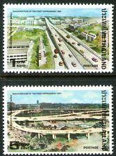 Thailand 1981 First Expressway set of 2 MUH