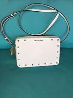 Michael Kors Sandrine Stud Large EW Crossbody Leather Bag NEW