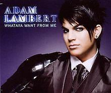 Whataya Want from Me von Lambert,Adam   CD   Zustand gut