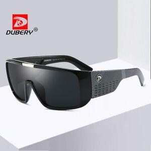 DUBERY Men's Women's Sunglasses Outdoor Driving Fishing Sport Glasses New Gift