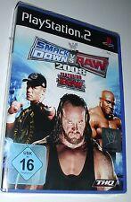 Smack Down vs Raw 2008 featuring ECW nuevo con embalaje original PlayStation 2 juego ps2 Wrestling