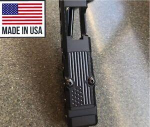 TRIJICON RMR Cover Plate  for Glock 19, 17, 26 cut slide  (Cerakote)