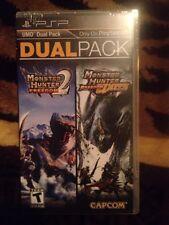 Monster Hunter Freedom 2 Unite Dual Pack PSP Sealed