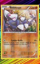 Rototaupe Reverse - XY5:Primo Choc - 89/160 - Carte Pokemon Neuve Française