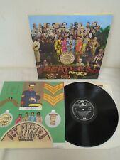 Beatles Sgt Peppers Vinyl LP with Insert Parlophone PCS 7027