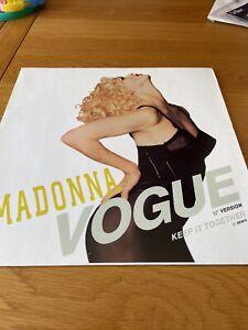 "Madonna Vogue 12"" Vinyl"