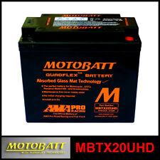 BATERÍA [MOTOBATT] MBTX20UHD = YTX20HBS (12 V 21 SELLADO EN HABILITADO