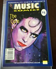 The Cure Music Personality Comics 1st Print NM 1992 Gothic Rock Alternative Wave