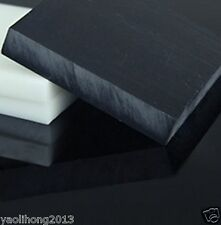 1pcs ACETAL POM Plastic Polyoxymethylene Plate Sheet 10mmx100mmx100mm Black