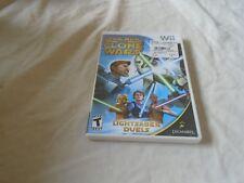 Star Wars: The Clone Wars - Lightsaber Duels (Nintendo Wii, 2008)