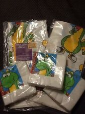 Dudley The Dragon Birthday Party Supplies Lot Of 5 Table Cover Napkins NOS Vtg