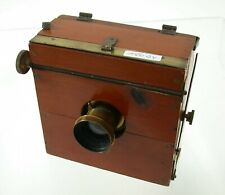9x12 wooden field camera Holz Kamera antique sweet süss brass lens Messing /19K
