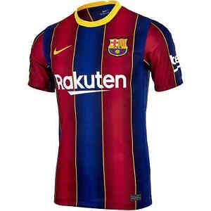 Nike Dri-FIT F.C. Barcelona 2020/21 Stadium Home Mens Soccer Jersey CD4232-456