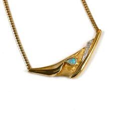 Echtschmuck-Halsketten & -Anhänger im Collier-Stil aus mehrfarbigem Gold