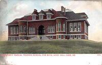 Good Will Farm Maine~Quincy Manual Training School for Boys~1905 Postcard