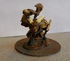 Reaper Bones 77254 Beastman Champion.  Painted and based.