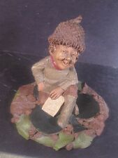 Tom Clark Gnomes KING Gnome Sitting On Shamrock or Club
