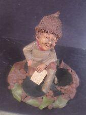 Tom Clark Gnomes KING Gnome Sitting On Shamrock or Club