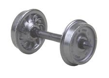 Kadee HO Metal Wheels, 36/Ribbed 12