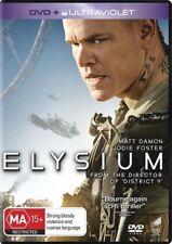 Elysium Matt Damon Jodie Foster DVD + UltraViolet Brand New in plastic