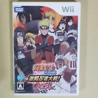 Naruto Shippuden Gekitou Ninja War SPECIAL Wii Nintendo Takara Tomy Japan