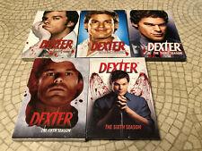 Dexter Seasons 1-2-3-5-6 TV DVD Complete Seasons