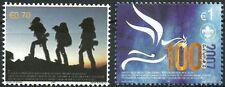 Kosovo Stamps 2007. EUROPA CEPT. SCOUT. Set MNH