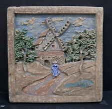 Windmill Dutch Scene Tile by Muresque California