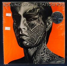 THE ROLLING STONES-TATTOO YOU Album In Shrink W/Hype-ROLLING STONES #COC 16052